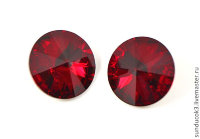 Swarovski 1122 Rivoli 12mm - Crystal Red